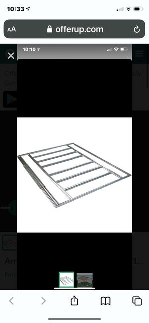Arrow 10x10 10x12 or 10x14 ft shed floor kit for Sale in Rialto, CA