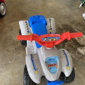 Paw Patrol Toddler Quad 6V for Sale in Hudson, FL