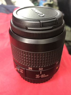 Canon 35-80mm SLR Digital Camera Lens for Sale in Garland, TX