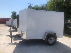 5x8 cargo w barn door for Sale in Dallas, TX