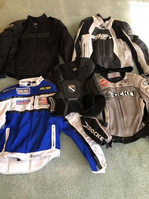 Motorcycle Jackets And Icon Vest for Sale in Phoenix, AZ
