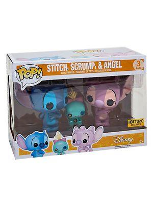 FUNKO POP DISNEY STITCH, SCRUMP & ANGEL 3 PACK LILO & STITCH HOT TOPIC EXCLUSIVE for Sale in Smithfield, RI