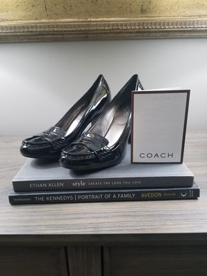 New Authentic Coach Paulina Patent Leather Heels for Sale in Jackson Township, NJ