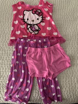 PJ's Hello Kitty girls size 6 for Sale in San Jacinto, CA