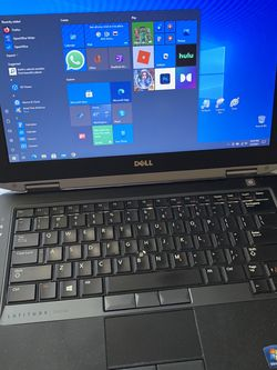 """CHEAP WORK SCHOOL Windows 10 LAPTOP // 14"""" Dell Lattitude - 8GB RAM - 500GB HDD - Charger included - Intel i5-3380M CPU 2.90Ghz - Intel HD Graphics 40 for Sale in Palatine,  IL"""