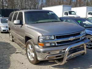 Now Open Saturday's. 2001 Chevy Suburban K1500  4x4 5.3L Parts only. U pull it yard cash only. for Sale in Hillcrest Heights, MD
