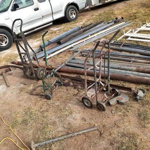 Tubos De Diferentes Medidas Cuadrados Y Redondos 4×4 Otros De 5×5 Y7 Feet long Los 4×4 Stil Tube Son De 10 Feet long for Sale in Lake Elsinore, CA