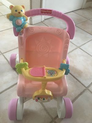 BABY WALKER STROLLER!! CLEAN - MUSICAL for Sale in Modesto, CA