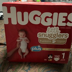 Huggies Size 1 for Sale in Bell, CA