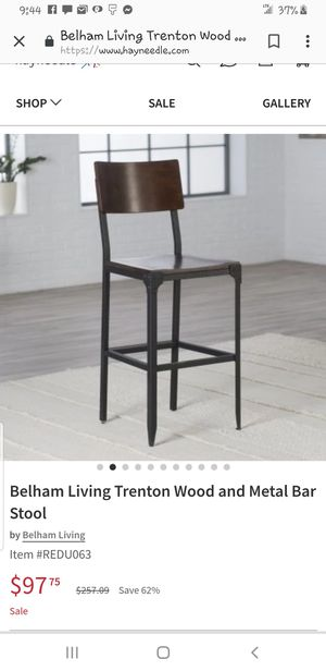 Set of 4 bar stools for Sale in Duncan Falls, OH