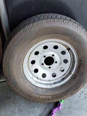 Trailer rims and tires for Sale in Hemet, CA