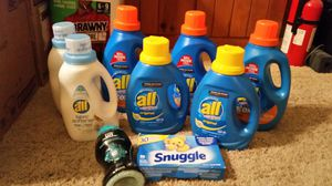ALL Laundry Detergent, Fabric Softener, Downy, Snuggle for Sale in Goodyear, AZ