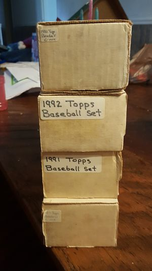 Lot of over 5000 cards mostly baseball 1980s and 90s for Sale in La Vergne, TN