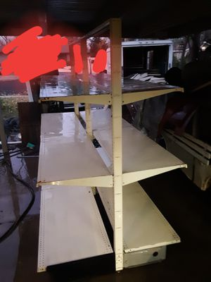 Gondola Commercial Doublesided Upright Metal Shelves for Sale in Modesto, CA