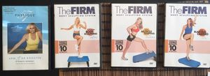 Workout exercise DVDs - The Firm Body Sculpting System, Physique & Tricord Workout for Sale in Lexington, KY