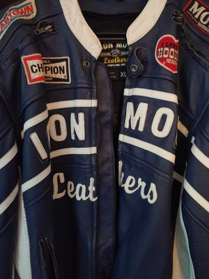 Icon Leather Motorcycle Jacket Size XL for Sale in Eagleville, PA