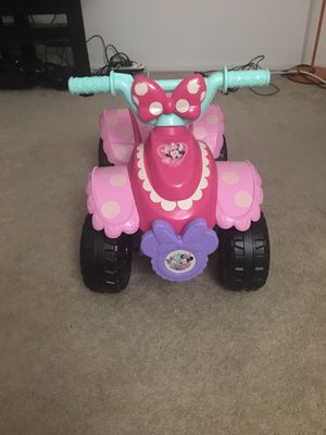 Minnie 6V battery powered ride for Sale in Irvine, CA