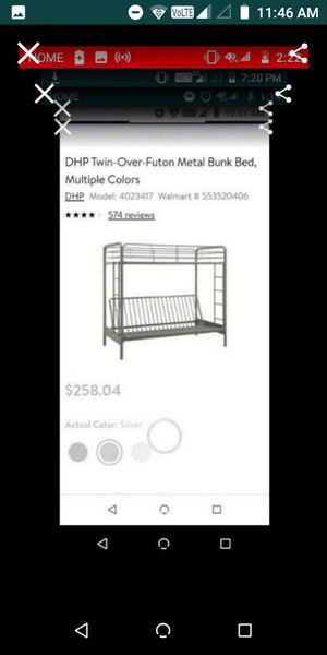 Bunk loft bed for Sale in Apple Valley, CA