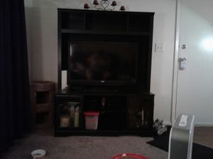 Entertainment center 5 foot tall 4 foot wide. for Sale in Tulsa, OK