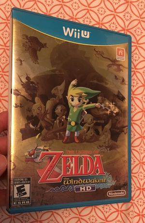 The Legend of Zelda Windwaker HD for Nintendo Wii U system game console for Sale in Cleveland, OH