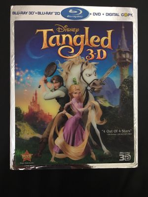 Tangled 3D Blu-Ray, Blu-Ray, DVD and Digital Copy Discs for Sale in Fullerton, CA