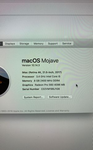 2017 4K iMac for Sale in Washington, DC