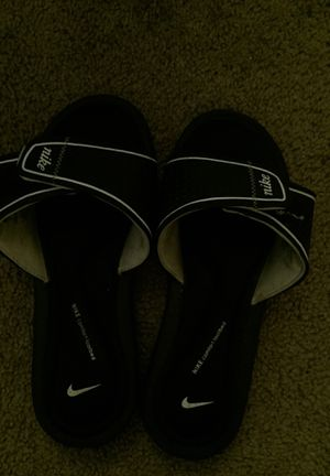 Nike Slides-comfort footbed for Sale in Alexandria, VA