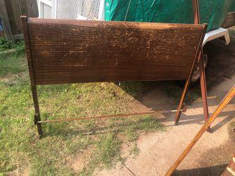 Metal full size bed frame for Sale in Abilene,  TX