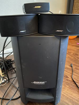 Bose cinemate GS SERIES II - 2.1 channel for Sale in Houston, TX
