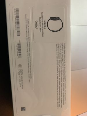 Apple Watch Series 4 - GPS, 44mm - Space Gray - Black Sport Band - Brand new - Sealed for Sale in Lyons, IL