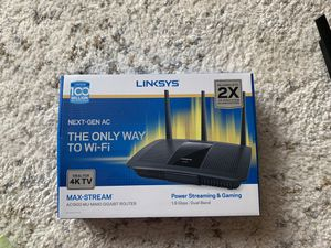 Router-Linksys 1.9 GBPs AC1900 for Sale in Auburn, WA