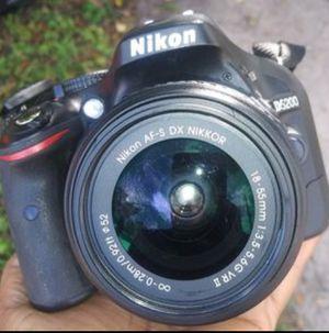 Nikkon digital camera and lens with battery for Sale in Azalea Park, FL