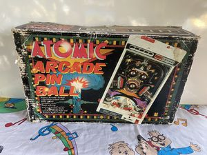 Vintage Atomic Arcade Pinball in Box for Sale in Fresno, CA