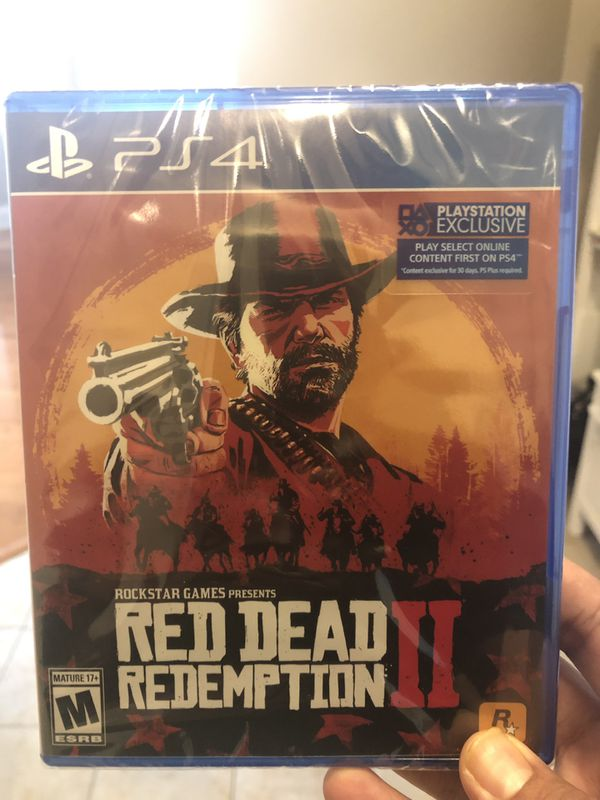 Sony PS4 Red redemption II