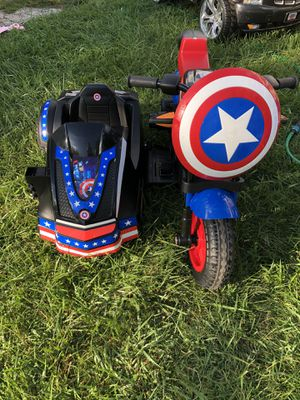 "Power wheels ""Captain America"" great condition $150 for Sale in Detroit, MI"
