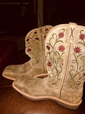 Women's Western Steel Toe Work Boots for Sale in Suffolk, VA