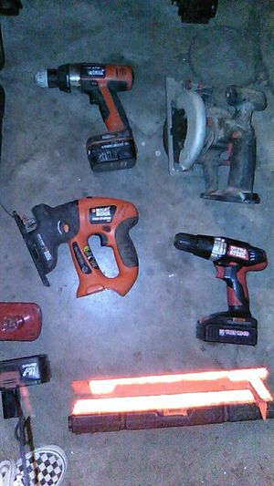 Random assortment of used power tools for Sale in Midwest City, OK