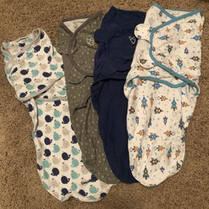 SwaddleMe,SummerInfant sleepsack wearable blankets for Sale in Henderson, NV