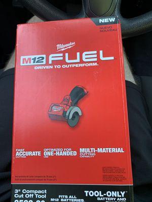 "Milwaukee 3"" compact cut off tool 12v for Sale in Santa Barbara, CA"