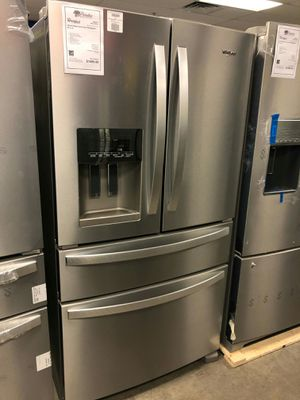 ✨BRAND NEW Whirlpool Stainless 4 Door French Door Refrigerator ️#//# for Sale in Mesa, AZ