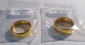 Tungsten jeweler wedding band set gold rings for Sale in West Somerville, MA