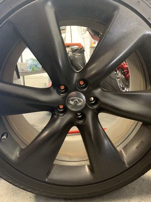 """21"""" Rims & Tires infinity for Sale in Wethersfield, CT"""