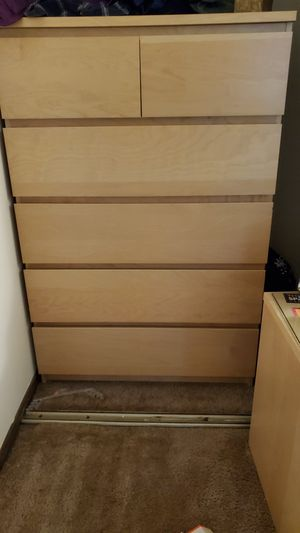 Ikea Dresser : 6 drawers for Sale in Colorado Springs, CO