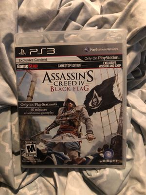 Assassin's Creed Black Flag PS3 for Sale in North Las Vegas, NV