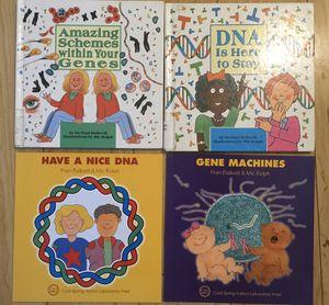 Lot of Genetics DNA Books for Children by Fran Balkwill for Sale in Virginia Beach, VA