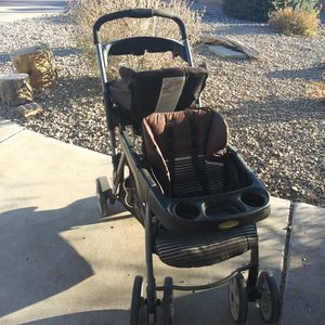 Graco Double Stroller sit and stand for Sale in North Las Vegas, NV