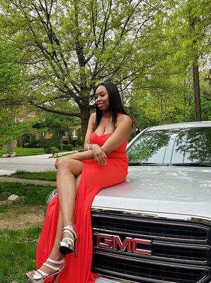Two Red Prom dresses for sell for Sale in Cleveland, OH