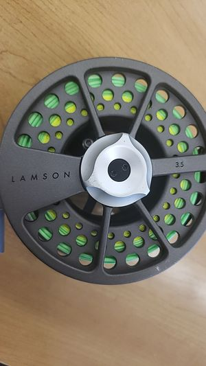 Waterworks Lamson Konic 3.5 Fly Fishing Reel for Sale in Danbury, CT