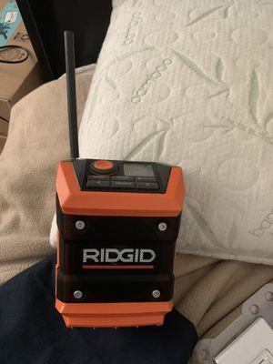 Ridgid Bluetooth radio for Sale in San Diego, CA