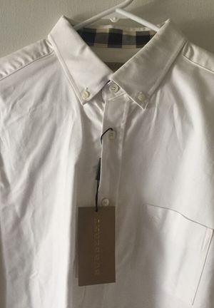 Burberry Dress Shirt for Men for Sale in Sunnyvale, CA